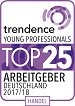 Young Professionals TOP 25 Arbeitgeber 2017